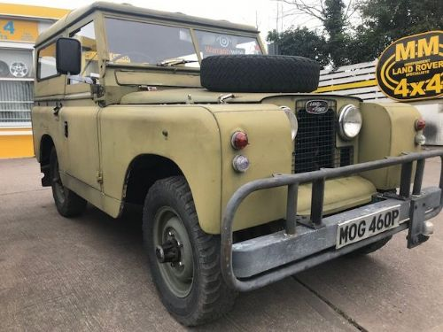 ***SOLD***Land Rover Series 2A 2.25 Petrol Ex-Military 1966***SOLD***